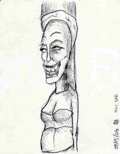 Tiki Woman