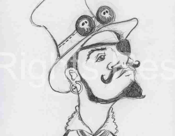 Steampunk Pirate Booty