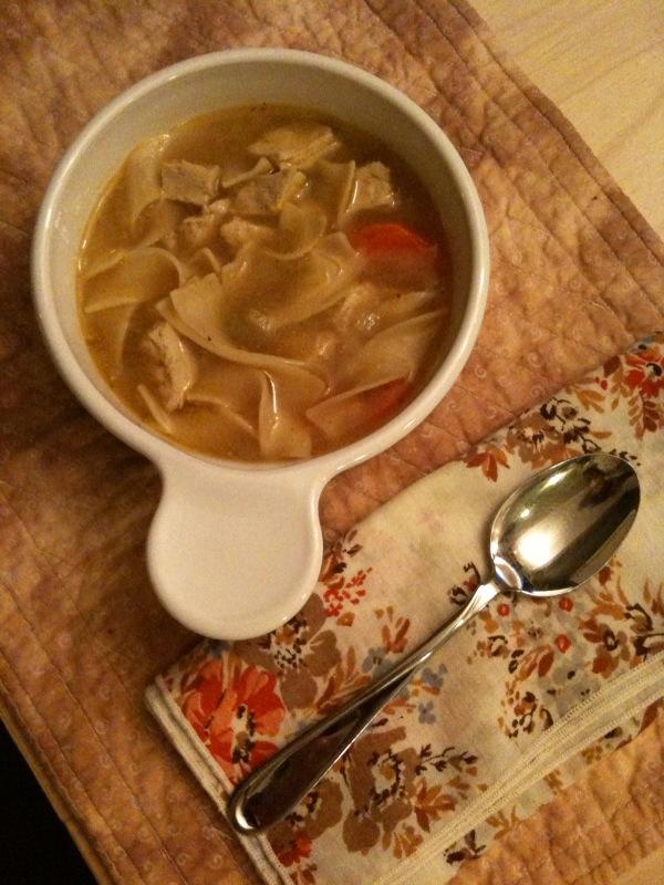 Chick'n Noodle Soup