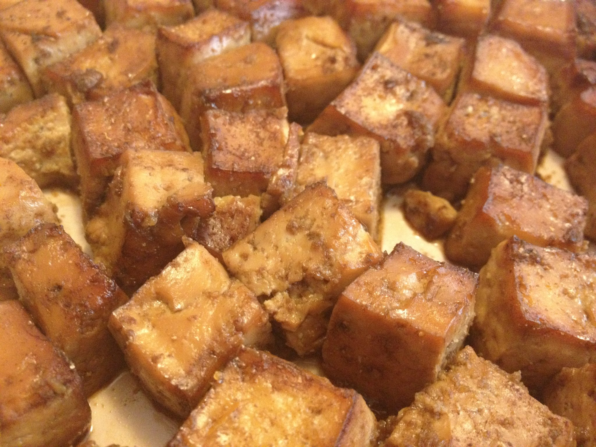 Slow Baked Tofu