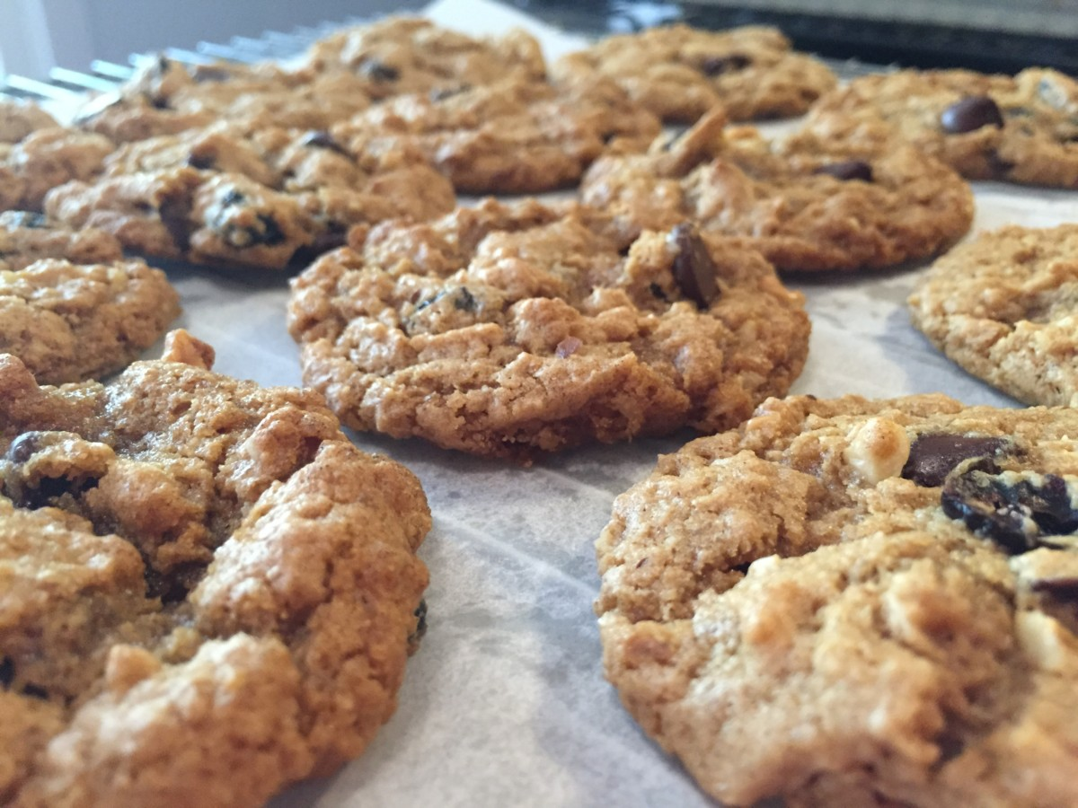 oat/whole wheat cookies