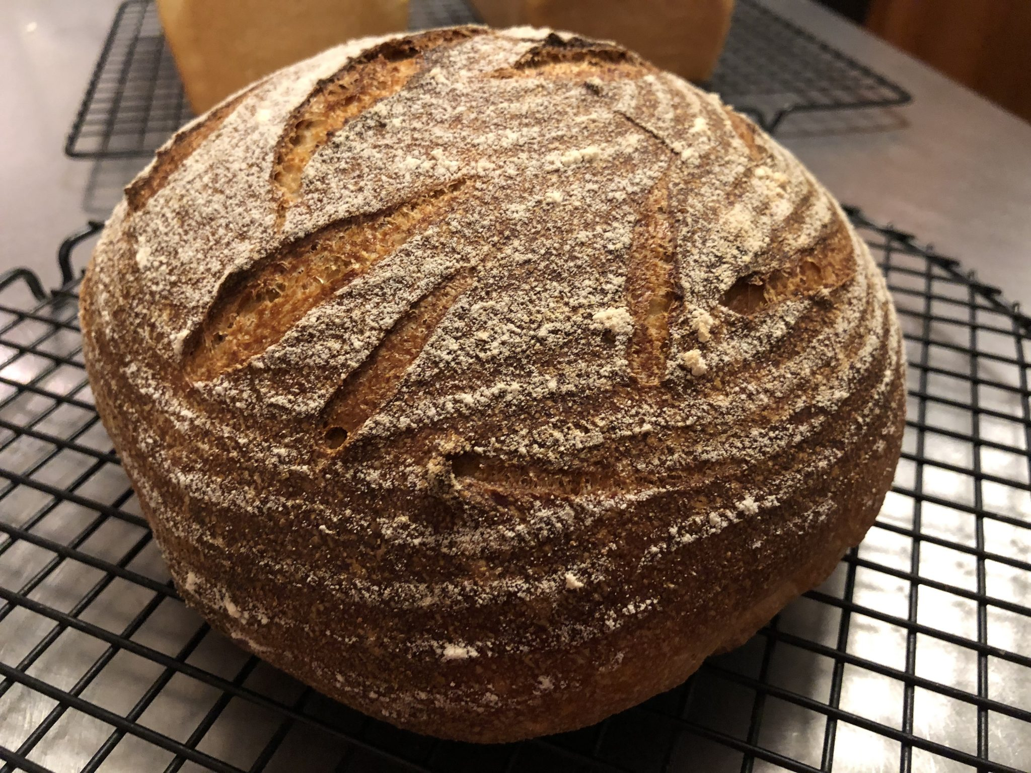 Whole Wheat Sourdough Bread Class