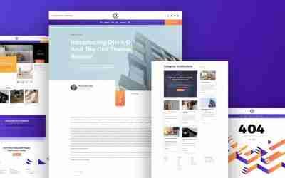 New Websites using Divi